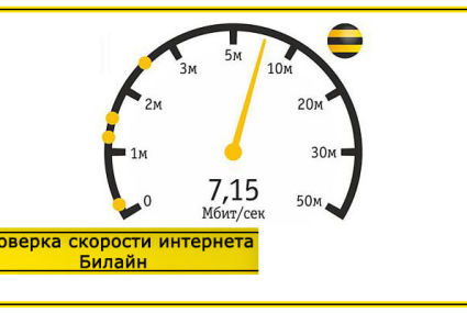 Проверка скорости интернета Билайн дома – способы