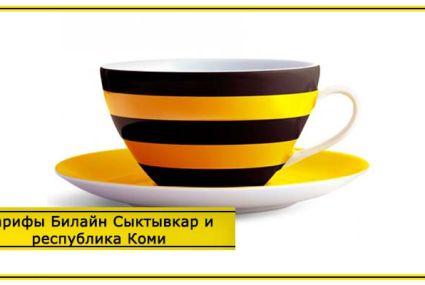 Тарифы Билайн Сыктывкар и республика Коми в 2019 году