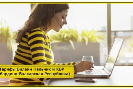 Тарифы Билайн Нальчик и КБР (Кабардино-Балкарская Республика) 2020 года