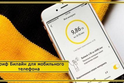 Тарифы Билайн в Туле и области на мобильную связь