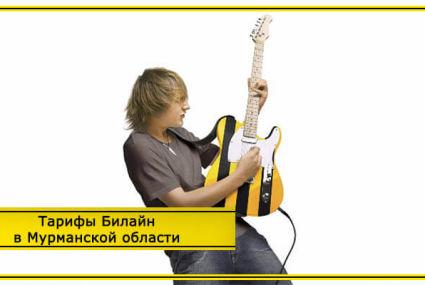 Тарифы Билайн Мурманск и Мурманская область 2019 года