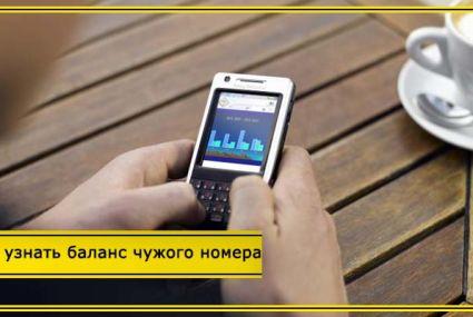 Как проверить баланс чужого номера Билайн с телефона