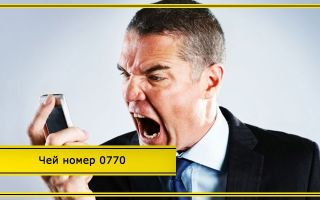0770: что за номер звонил мне на телефон Билайн и как отключить