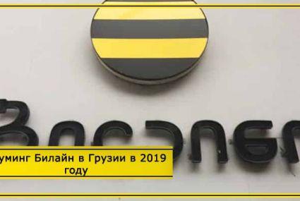 Роуминг Билайн в Грузии в 2020 году – тарифы и стоимость интернета, звонков и смс