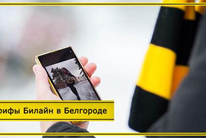 Тарифы Билайн в Белгороде и Белгородской области в 2020 году