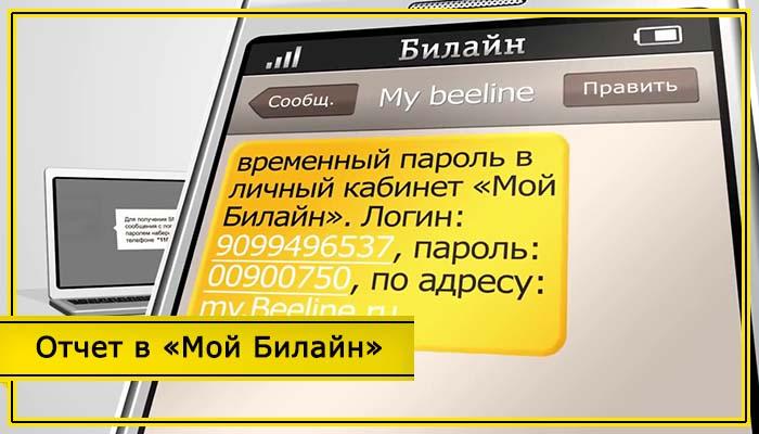 детализация звонков билайн бесплатно личный кабинет вход