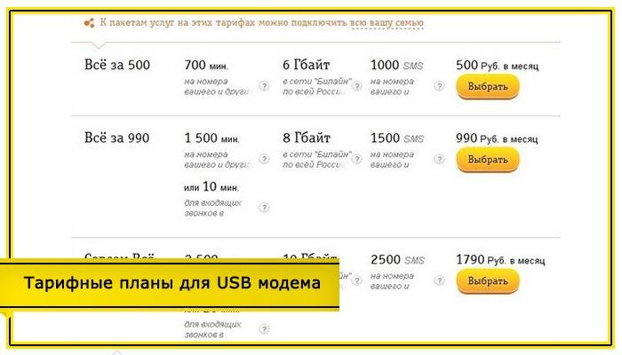 тарифы билайн псковская область без абонентской платы